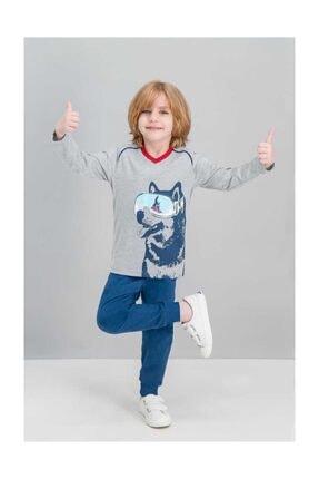 Rolypoly Husky Grimelanj Erkek Çocuk Pijama Takımı 0