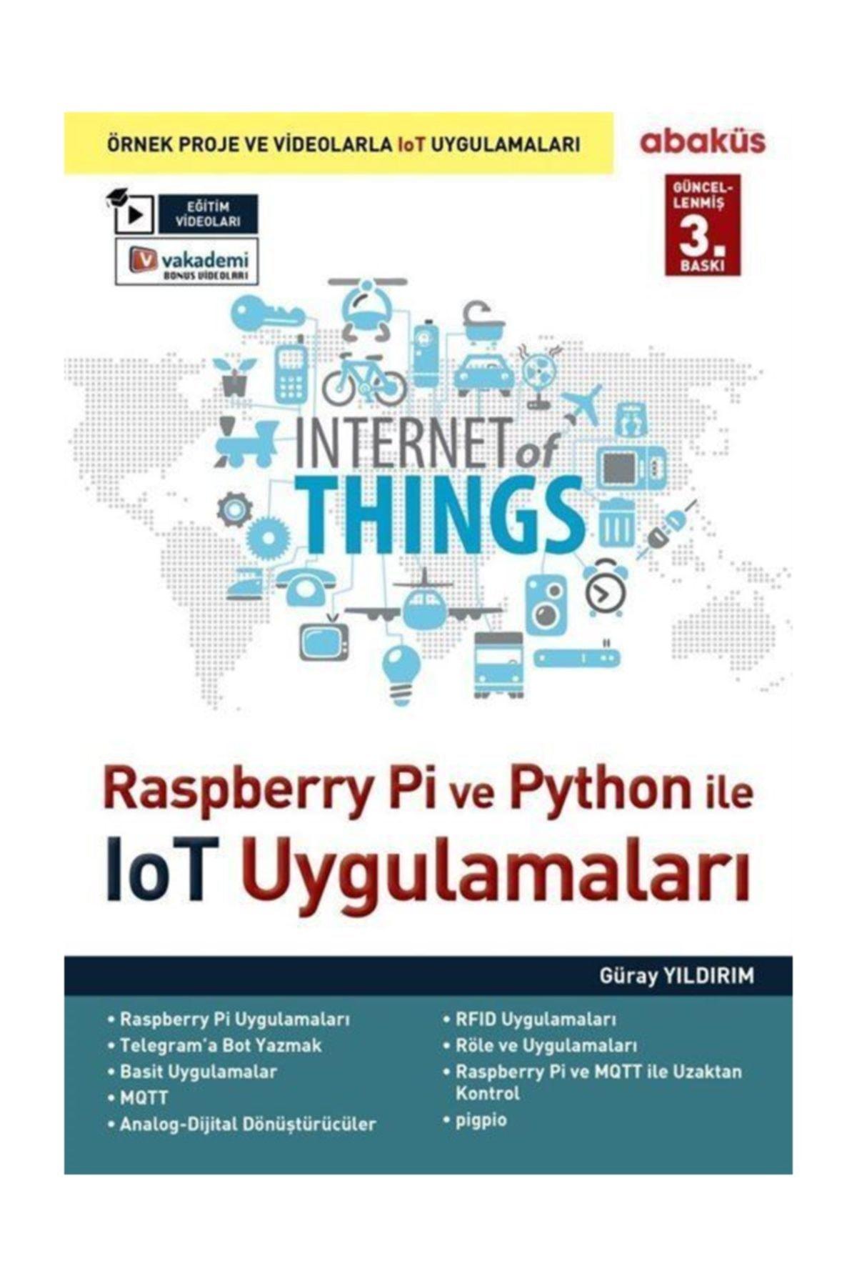 Raspberry Pİ ve Python ile İOT Uygulamaları - Güray Yıldırım