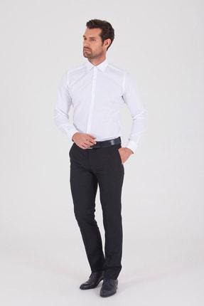 Hatemoğlu Slim Fit Beyaz Gömlek 1