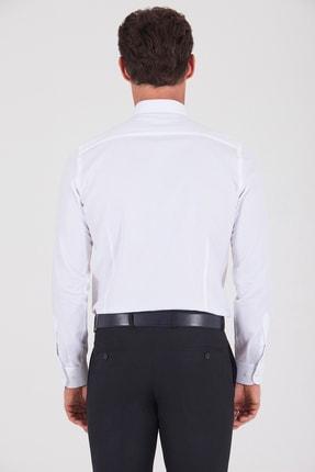 Hatemoğlu Slim Fit Beyaz Gömlek 2