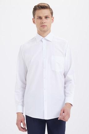 Klasik Beyaz Gömlek 20D190000074