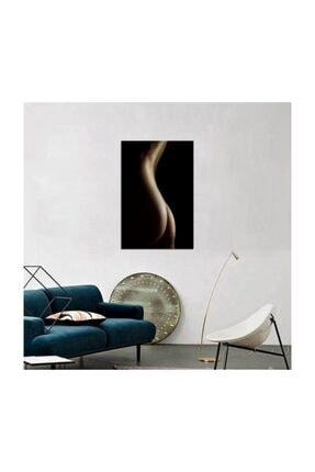 Tablosan Siyah Beyaz Nü Fotoğraf Kanvas Tablo 60x90 0