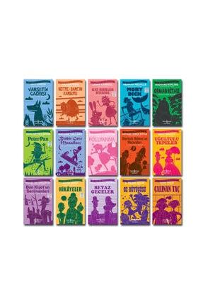 İş Bankası Kültür Yayınları Iş Bankası Ilköğretim Dünya Çocuk Klasikleri Yüz Temel Eser 15 Kitap Set 1 0