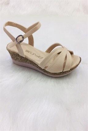 BELPİNO Comfort  Kadın Dolgu Tabanlı Sandalet (2) 0