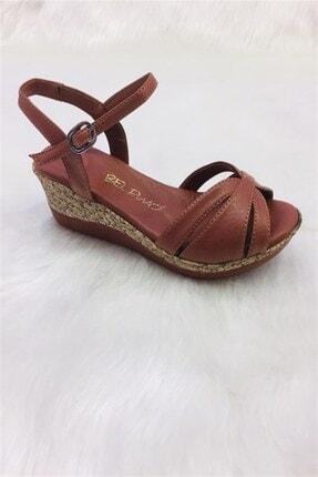 Arma Shoes Comfort  Kadın Dolgu Tabanlı Sandalet (2) 0