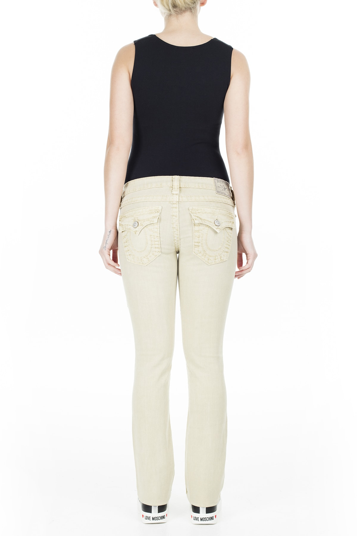 True Religion Jeans Kadın Kot Pantolon W95572N99 4