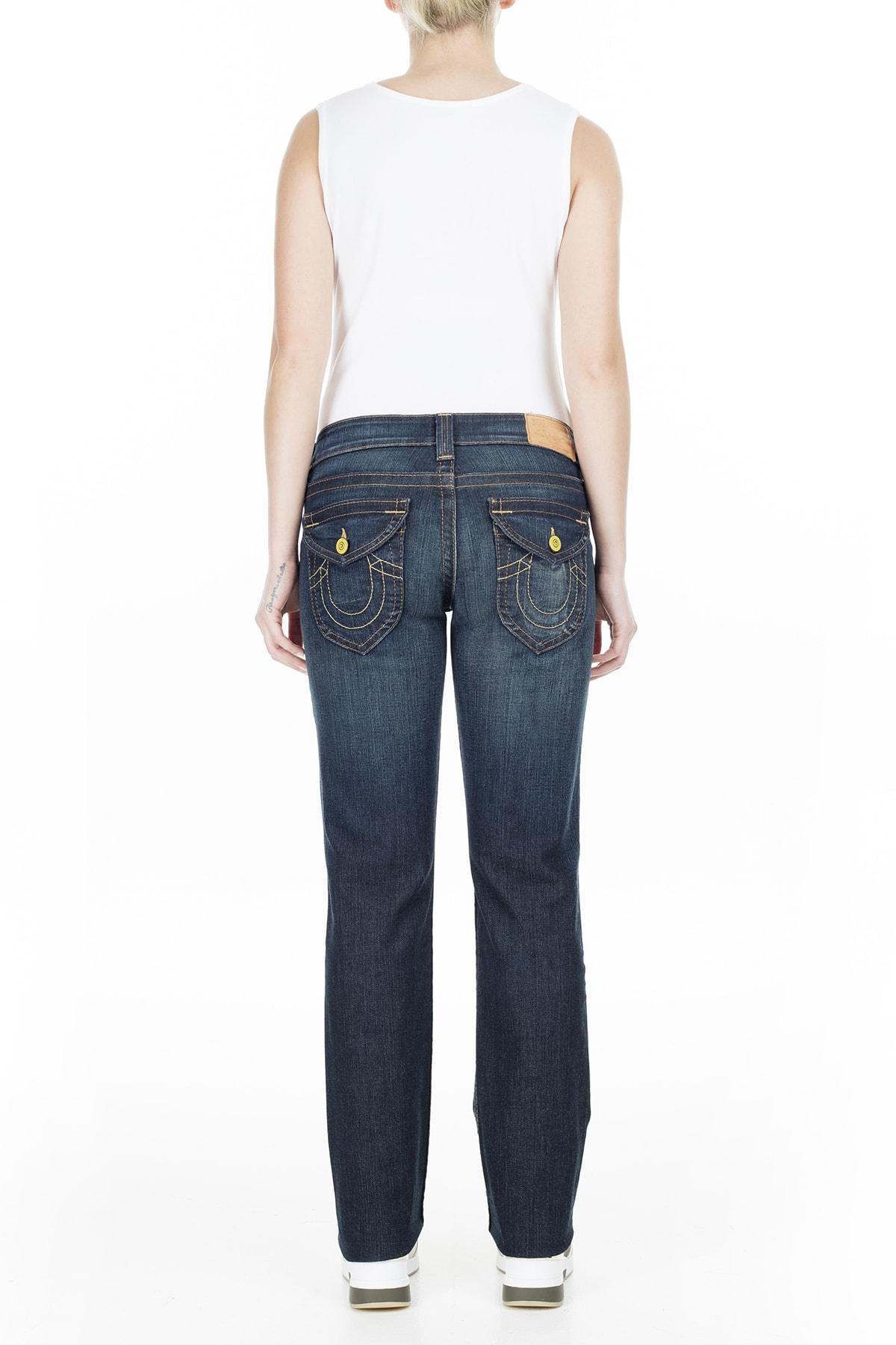 True Religion Jeans Kadın Kot Pantolon W102076E41D1 4
