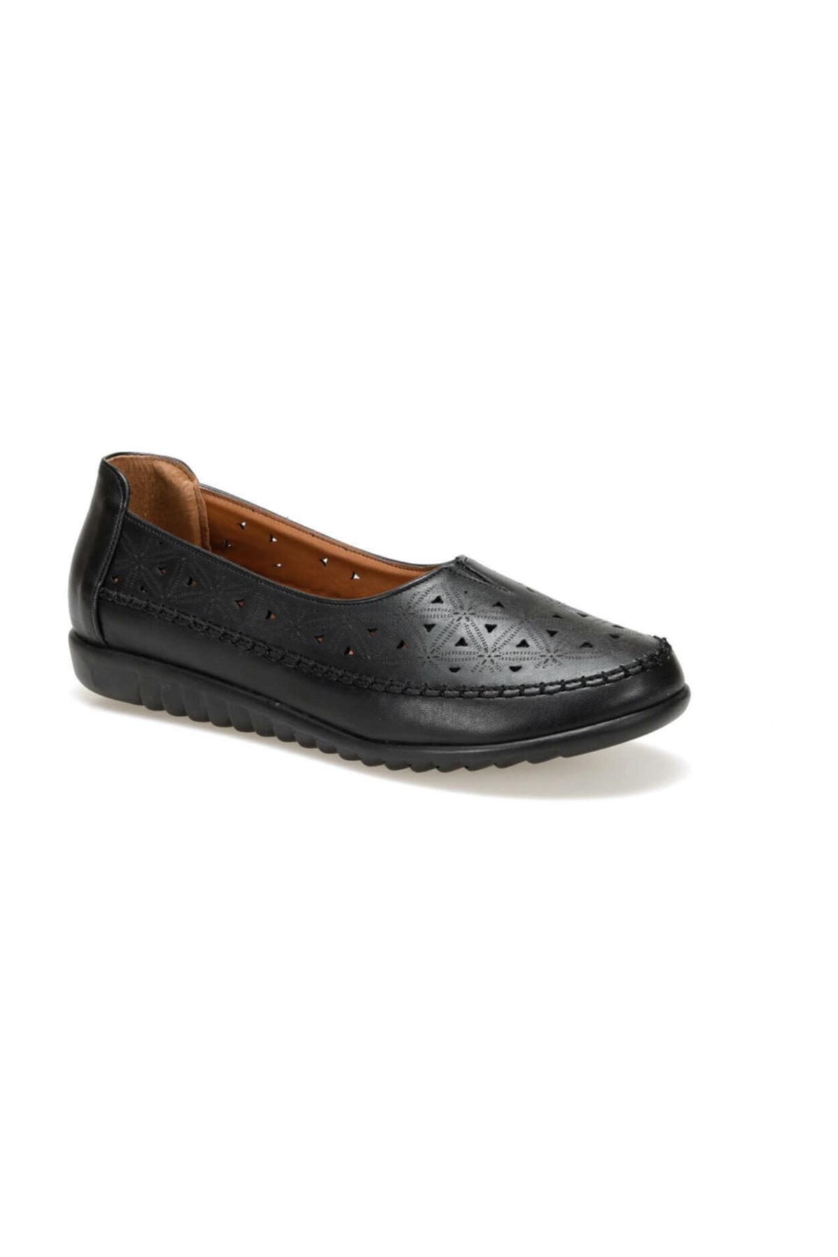 Polaris Siyah Kadın Casual Ayakkabı
