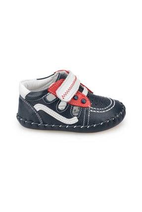 Polaris Hakiki Deri Lacı Erkek  Sneaker Ayakkabı 1