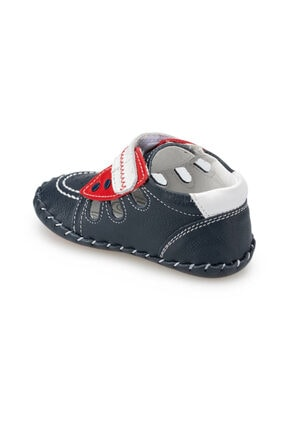 Polaris Hakiki Deri Lacı Erkek  Sneaker Ayakkabı 2