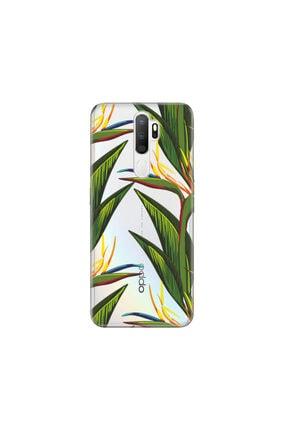 cupcase Oppo A5 2020 Kılıf Desenli Esnek Silikon Telefon Kabı Kapak - Doğa 0