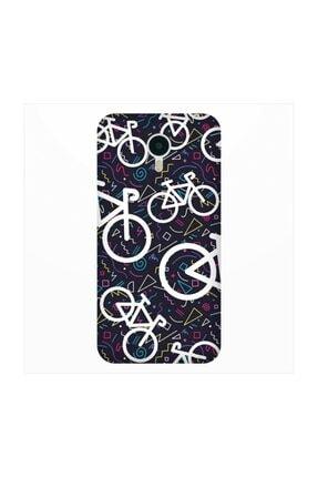 cupcase Meizu Pro 6 Kılıf Desenli Esnek Silikon Telefon Kabı Kapak - Bisiklet 0