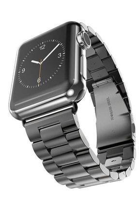 Elfia Apple Watch 2. Nesil 42mm Renkli Tarz Çelik Saat Kordonu 0