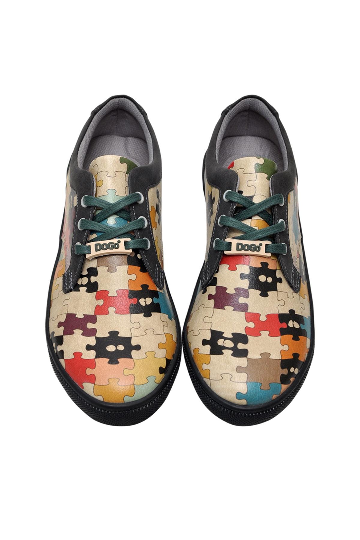 Dogo In The Puzzle Kadın Sneaker