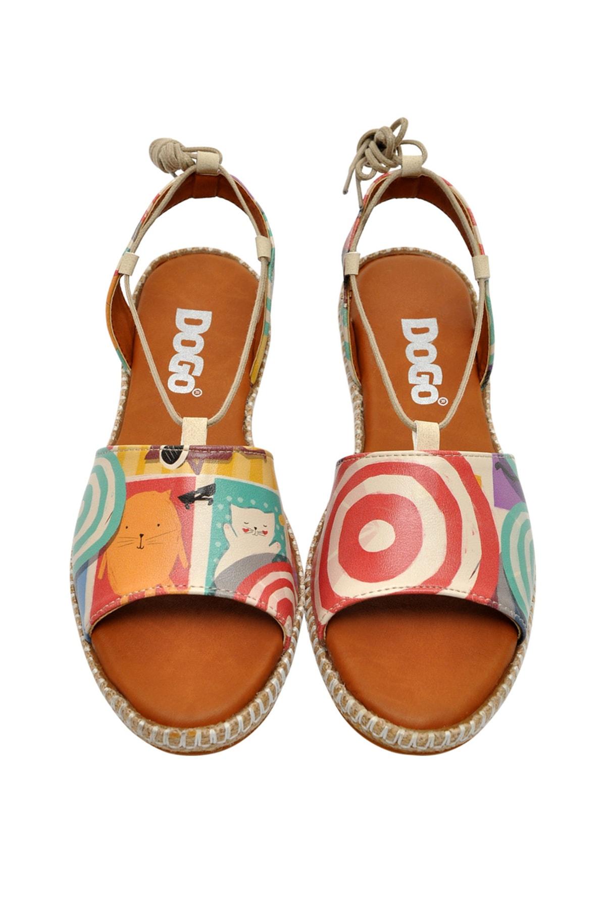 Dogo Sun Days Kadın Bağcıklı Sandalet