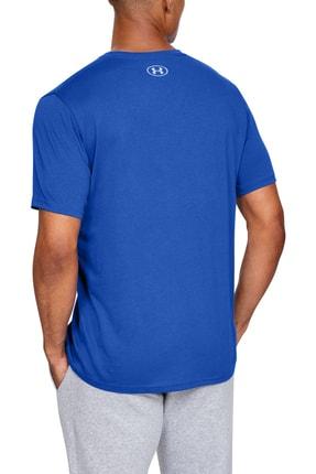 Under Armour Erkek Spor T-Shirt - UA Camo Boxed Logo Ss - 1351616-486 1