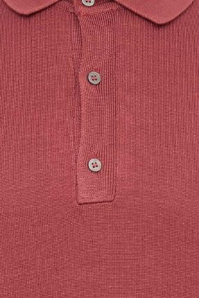Defacto Erkek Bordo Polo Yaka Triko T-Shirt 2