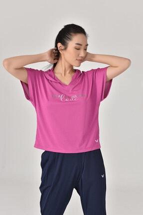 bilcee Pembe Kadın T-Shirt GS-8607 4
