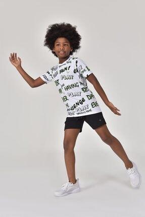 bilcee A.Yeşil Unisex Çocuk T-Shirt GS-8182 2