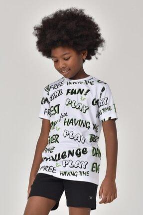 bilcee A.Yeşil Unisex Çocuk T-Shirt GS-8182 4