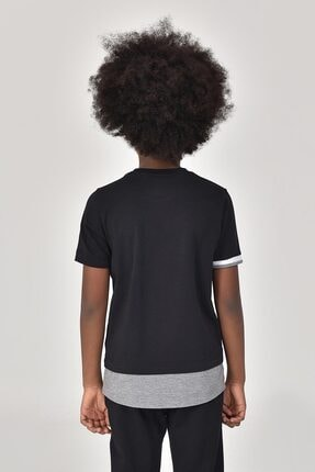 bilcee Siyah Erkek Çocuk T-Shirt GS-8163 2