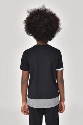 bilcee Siyah Erkek Çocuk T-Shirt GS-8163 3