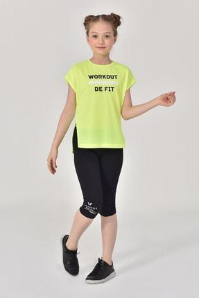 bilcee Yeşil Kız Çocuk T-Shirt GS-8159 2