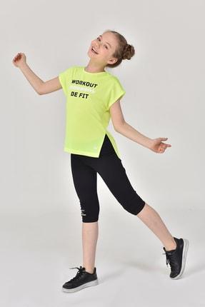 bilcee Yeşil Kız Çocuk T-Shirt GS-8159 4