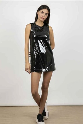 CHIARA FERRAGNI Kadın Siyah Elbise 3808431996980 3