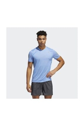 adidas Fq3711 Own The Run Tee Erkek T-shirt 0