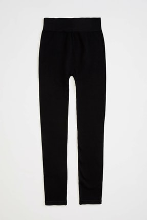 Defacto Kadın Siyah Slim Fit Sporcu Tayt R0143AZ.20SP.BK27 0