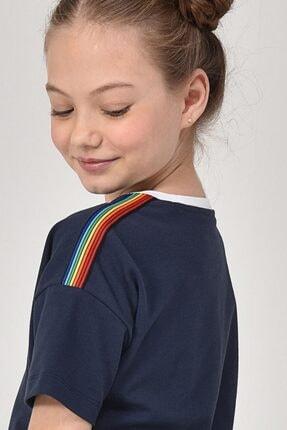 bilcee Lacivert Kız Çocuk Elbise GS-8152 1