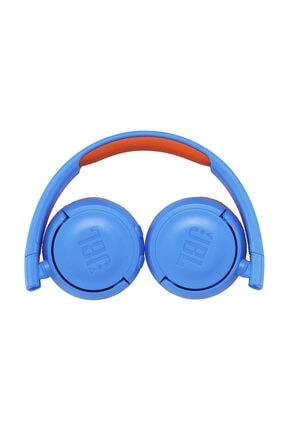 JBL JR300BT Mavi-Turuncu Bluetooth Kulak Üstü Çocuk Kulaklığı 1