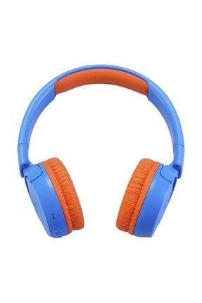 JBL JR300BT Mavi-Turuncu Bluetooth Kulak Üstü Çocuk Kulaklığı 3