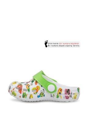 Akınalbella Çocuk Beyaz  Sandalet E009B026 1