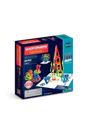 Magformers Mıknatıslı Creative Set 60 Parça 0