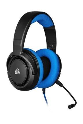 Corsair HS35 Mavi Stereo Oyuncu Kulaklığı 1