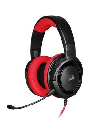 Corsair HS35 Kırmızı Stereo Oyuncu Kulaklığı 1