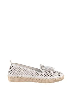 Soho Exclusive Beyaz Kadın Casual Ayakkabı 14846 1