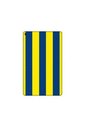 KAPAK OLSUN Samsung T 517 Sarı Lacivert Çubuklu Telefon Kaplaması 0