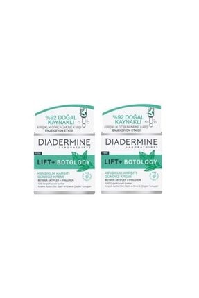 Diadermine Lift + Botology Kırışıklık Karşıtı 50 ml Gündüz Kremi 2 Adet 0