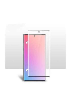 Samsung Galaxy Note 10 Kılıf Yüzüklü Standlı Mıknatıslı+ekran Koruyucu Süper Pet Film 2