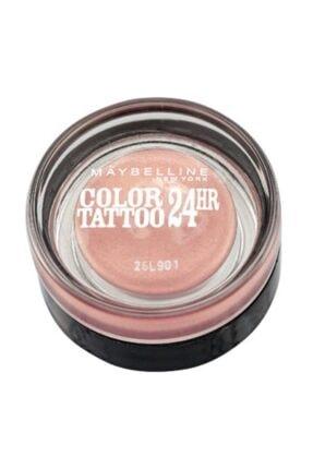 Maybelline New York Color Tattoo 24h Göz Farı - 65 Pink Gold - Metalik Pembe 0