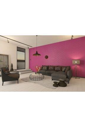 RENKLİ EVİM 17 Renk Seçenekli Yapışkanlı Tuğla Duvar Paneli 77*70 Cm 0,53m2 0