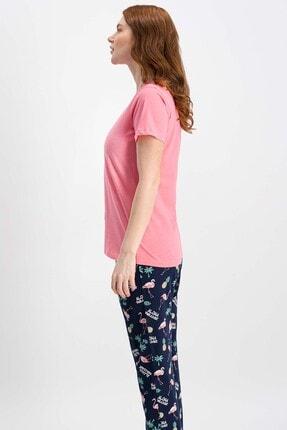 Rolypoly Rolypoly Little Pelican Şeker Pembe Kısa Kollu Kadın Pijama Takımı 2