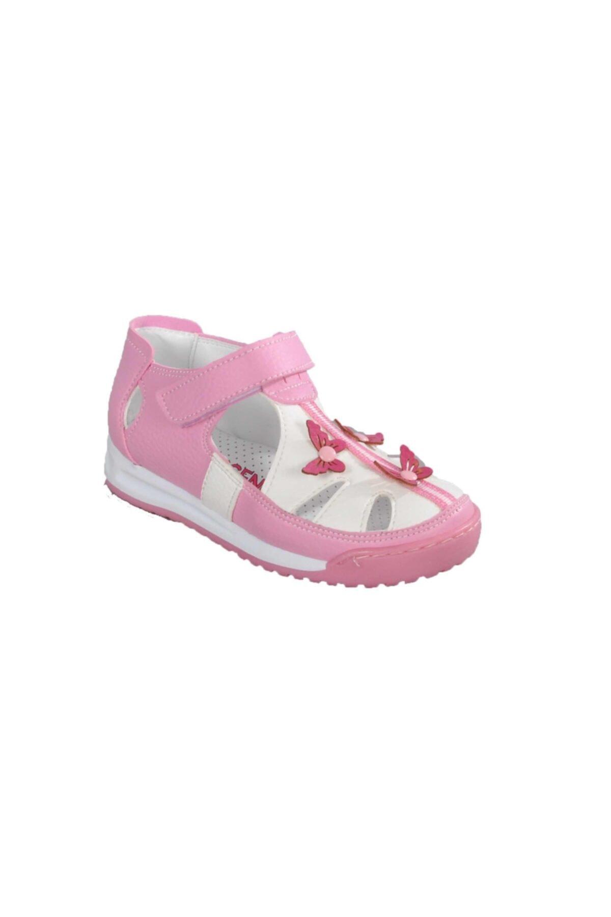 012 Beyaz-pembe Çocuk Günlük Ayakkabı