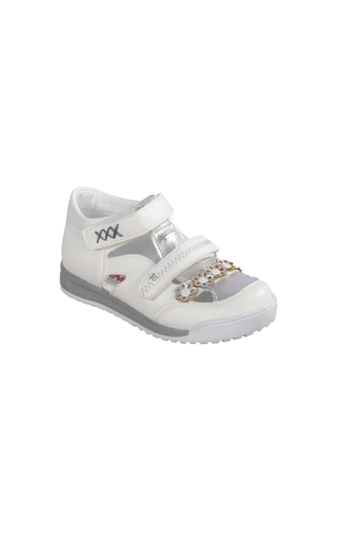 011 Beyaz-gümüş Çocuk Günlük Ayakkabı