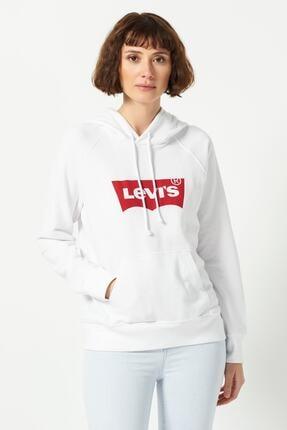 Levi's Kadın Graphic Sport Hoodie Sweatshirt 35946-0100 0