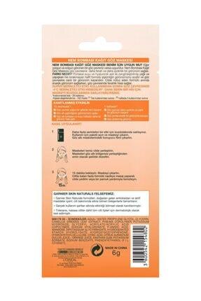 Garnier Nem Bombası Göz Altı Torbalarına Karşı Kağıt Göz Maskesi 3'lü Set 2