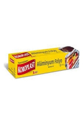 Koroplast Alüminyum Folyo 15 Mt 0